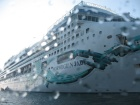 Norwegian Jade October 2009 in Varna - The largest passenger cruise ship which ever visited Bulgaria